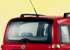 Spoiler alettone posteriore da tetto per Fiat Panda