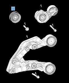 Tendicinghia fisso per Jeep