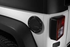 Tappo carburante nero satinato con logo Jeep