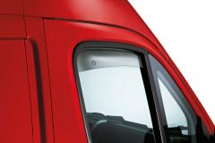 Deflettori aria per finestrini anteriori per Fiat Professional Ducato