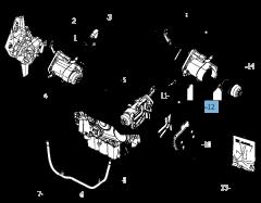 Filtro olio per Lancia Voyager