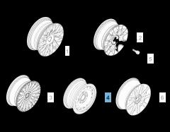Cerchio in acciaio 6J x 15''