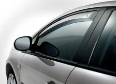 Deflettori antiturbolenza anteriori per finestrini per Fiat