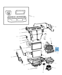 Filtro aria abitacolo per Lancia Voyager