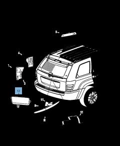 Fendinebbia per Jeep Grand Cherokee