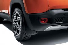 Paraspruzzi posteriori sagomati per Jeep Renegade
