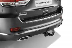 Gancio traino estraibile per Jeep Grand Cherokee