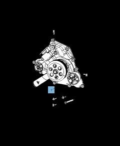 Pompa acqua per Jeep