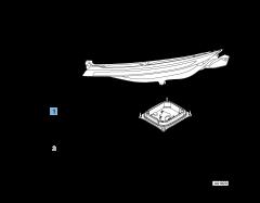 Faro anteriore sinistro privo di centralina DRL