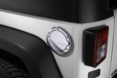 Tappo Carburante Cromato per Jeep