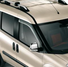 Deflettori aria per finestrini anteriori per Fiat e Fiat Professional Doblo