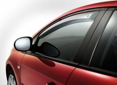 Deflettori antiturbolenza anteriori per finestrini per Fiat Bravo
