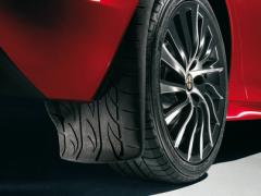 Paraspruzzi posteriori con grafica battistrada per Alfa Romeo Giulietta